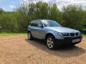 2005 55 BMW X3 Sport 3.0d Diesel Auto Rare Car Great Spec