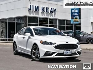 2017 Ford Fusion Sport  - Leather Seats -  Bluetooth - $125.44 /