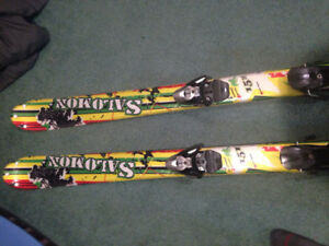Salomon skis twin tipped