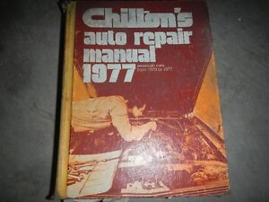 1977 CHILTON REPAIR MANUAL Peterborough Peterborough Area image 1
