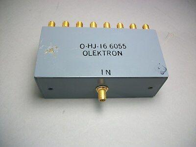 Olektron O-hj-166055 16 Way Power Splitter Divider Sma F