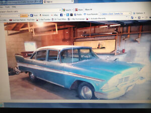 1957 Plymouth Belvedere have ownership papers from 57 and more