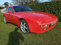 1988 PORSCHE 944 2.5 16v MOT FEB 2018 LOTS OF HISTORY