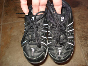 2 Nike Shox one pear size 8 Toddler and one size 7