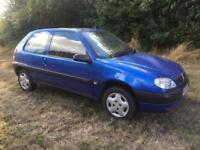 CHEAP 1.1 CITROEN SAXO MANUAL - MOT & SERVICE HISTORY (12 MAIN DEALER)