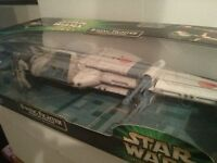 Star Wars Power of the Jedi B-Wing fighter