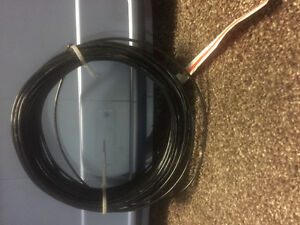 Black 9 gage bottom wire for fence 100 feet