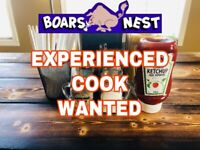 Full Time Experienced Cook Wanted