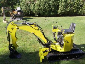 Mini-excavatrice Phoenix 400