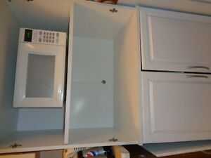 white microwave for sale!