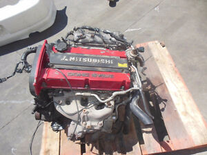 Jdm Mitsubishi Lancer Evo 4 Engine longblock 4g63 Turbo Engine 4
