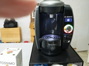 Tassimo Coffee Machine,tray and coffee u take it all