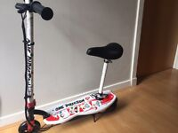 Kids electric one direction scooter
