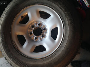 6 bolt Ford rims and tires