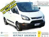 2016 66 FORD TRANSIT CUSTOM 310 L1 4 SEAT CREW WITH REAR CELL