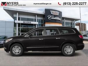 2014 Buick ENCLAVE LEATHER  PREMIUM, AWD, BLIND ZONE ALERT, SUNR