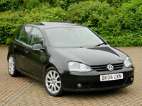 2006 06 Volkswagen Golf 2.0 TDI GT 4Motion 5dr WITH MEGA SPEC INC SUNROOF