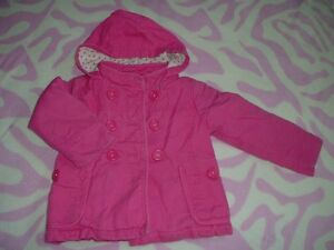 5T Girl's --- Fleece Lining Double-breasted Coat (Old Navy)