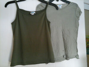 2 piece camouflage set size L for girls