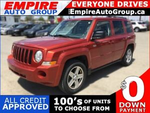 2010 JEEP PATRIOT SPORT * 4WD * POWER GROUP