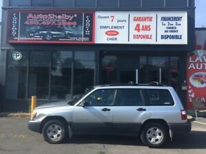 Subaru Forester AWD-WAGON-AUTOMATIC-AIR-GROUPE ELECTRIQUE 2002