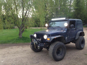 2003 Jeep TJ Rocky Mountain Edition Convertible
