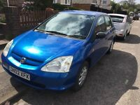 Honda Civic 2002 1.4 petrol