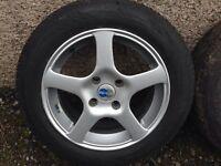 "Ford Focus 5 spoke alloys 15"" - will fit some Citroen Peugeot not VW Audi seat skoda"