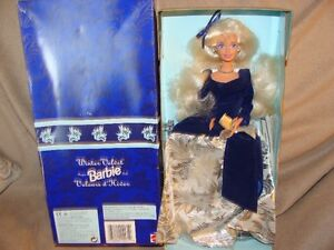 1995 winter velvet barbie (avon exclusive)