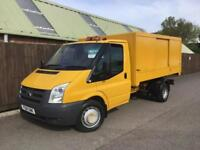 Ford Transit Tipper 350 LWB Boxed Tipper Body**YELLOW**TIPPER**SUPERB*