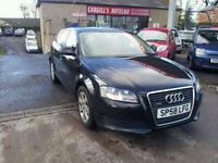 AUDI A3 TDI QUATTRO, Black, Manual, Diesel, 2008
