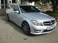 2012/62 Mercedes-Benz C250 CDI AMG Sport Plus Automatic 7G-Tronic Plus Estate
