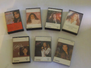LOT DE 8 CASETTES AUDIO DE CELINE DION