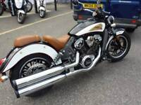 Indian Scout Icon Black/White 2018 Model Only 1 Available