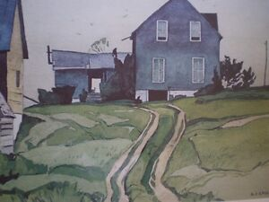 "A.J. Casson-""Farm House, Bancroft""-Limited Edition Print Kitchener / Waterloo Kitchener Area image 4"