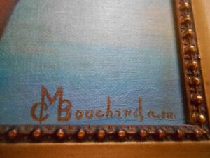 recherche un peintre avec la signature de cT  ou cMBouchard Saguenay Saguenay-Lac-Saint-Jean image 1
