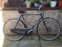 Gazelle Superieur Special Vintage Retro Mens Town Bike 21 Inch Frame 4 Speed Excellent Condition