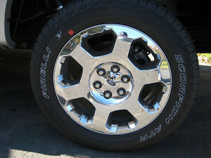 "Set of Four - Mint 2013 F150 Factory 20"" Wheels & Tires"