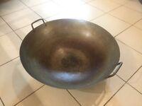 62cm Wide Frying Wok