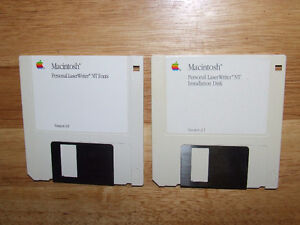 Apple Personal LaserWriter NT Owners Guide & Install Disc's $10 Belleville Belleville Area image 3