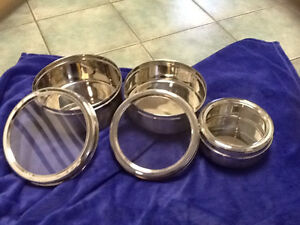 Stainless Steel Nesting tins London Ontario image 1