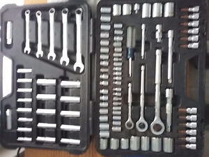Socket and Wrench Set