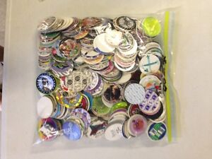 Pogs and Slammers, prob over 100 pieces