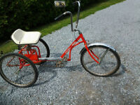 Tricycle,Antique,  E-Z Roller Regal, great shape $100.00