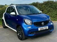2016 smart forfour NIGHT SKY PRIME PREMIUM T Auto Hatchback Petrol Automatic