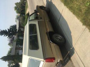 Silverado truck for sale With working topper and lock
