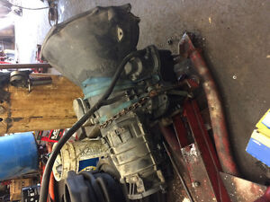 Built automatic Cummins transmission plus other parts