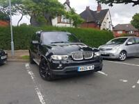 2005 BMW X5 4.8IS EXCLUSIVE EDITION EDITION SPORT PLUS V8 3.0D PETROL M5