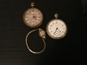 Looking for old pocket and wrist watches.