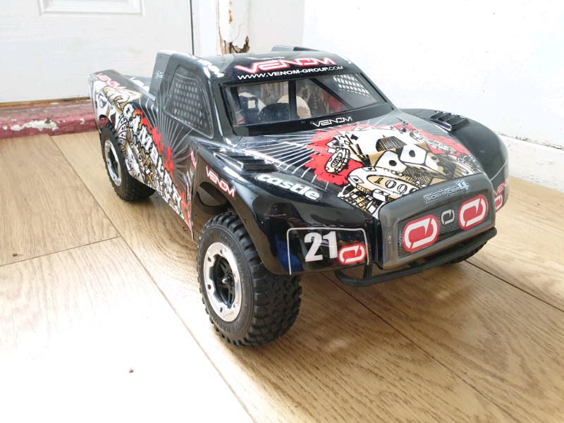 1/10 Scale Short Course Truck  Castle Sidewinder 4  Arrma Rc Car Truck | in  Leicester, Leicestershire | Gumtree